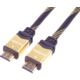 PremiumCord HDMI 2.0 High Speed + Ethernet kabel HQ, zlacené konektory, 1m