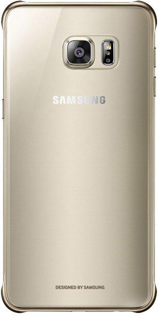 Samsung kryt Clear Cover pro Galaxy S6 edge+ (SM-G928F), zlatá