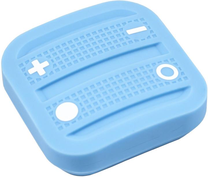Fibaro NodOn Soft Remote, magnetické bateriové 4tlačítko na zeď, světle modrá