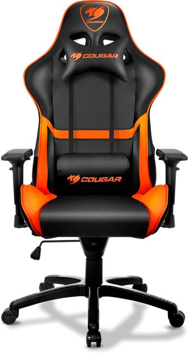 Cougar Armor, černá/oranžová