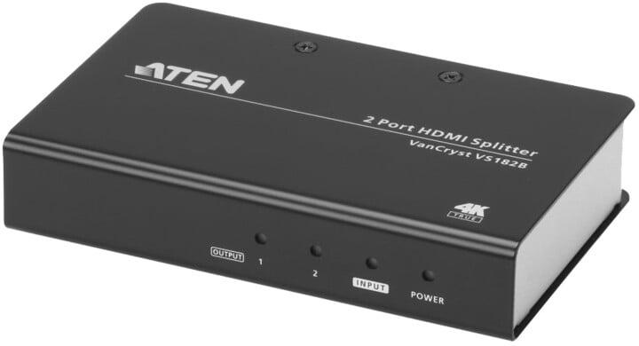 ATEN splitter HDMI - 2xHDMI 2.0, 4K@60Hz