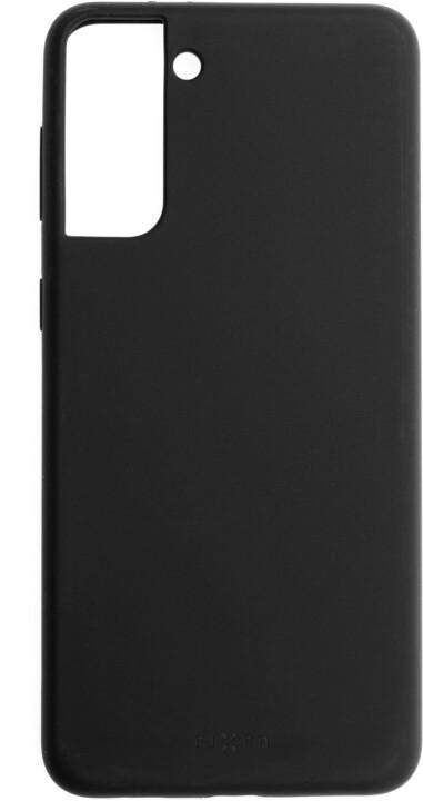 FIXED silikonový kryt Flow pro Samsung Galaxy S21, černá