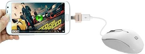 Remax OTG micro USB/USB propojovací konektor