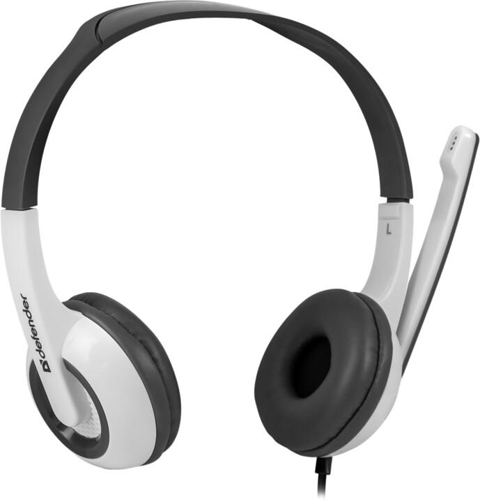 Defender Esprit 055, bílo-šedá