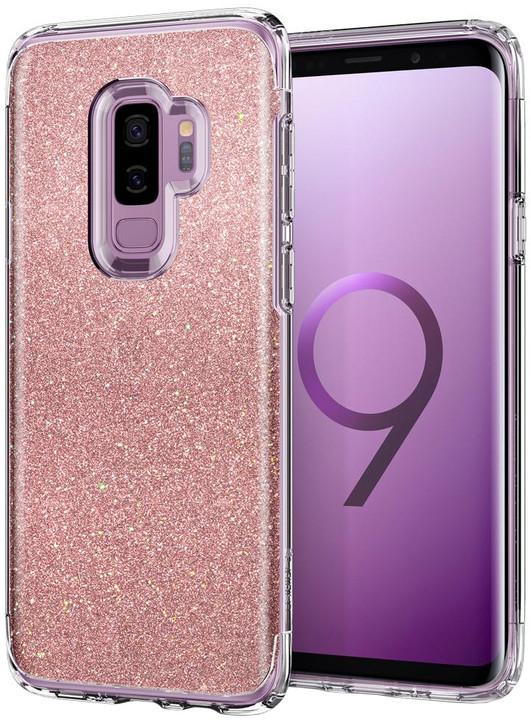 Spigen Slim Armor Crystal Glitter pro Samsung Galaxy S9+, rose