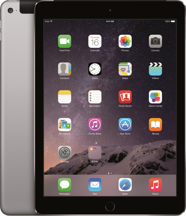 APPLE iPad Air 2, 32GB, Wi-Fi, 3G, šedá