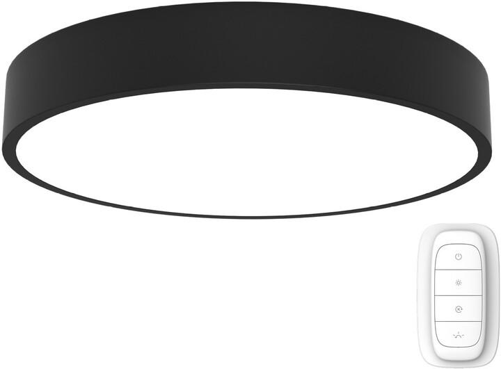 IMMAX NEO RONDATE Smart stropní svítidlo 80cm 65W, černá