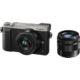 Panasonic Lumix DMC-GX80, stříbrná + 12-32 mm + 35-100 mm
