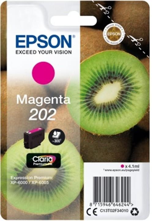 Epson C13T02F34010, 202 claria magenta