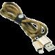 MIZOO USB/ lightning kabel X28-11i, písečná kamufláž