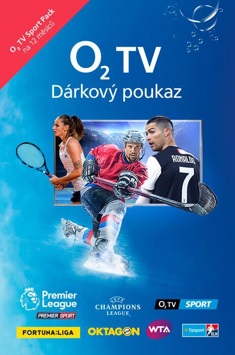 O2 TV Sport Pack na 12 měsíců