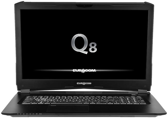 EUROCOM Q8, černá