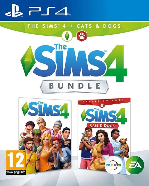The Sims 4 + rozšíření Psi a Kočky (PS4)