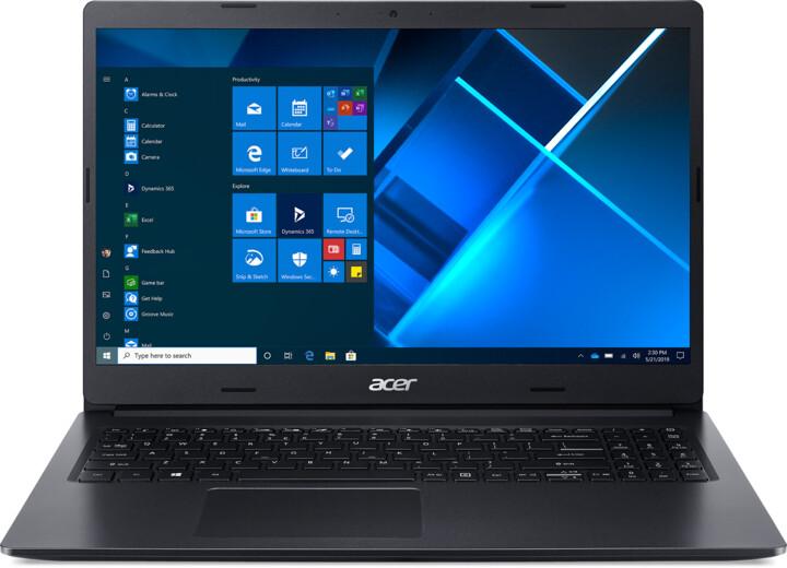Acer Extensa 215 (EX215-52), černá