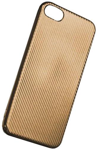 Forever silikonové (TPU) pouzdro pro Apple iPhone 6 PLUS, carbon/zlatá