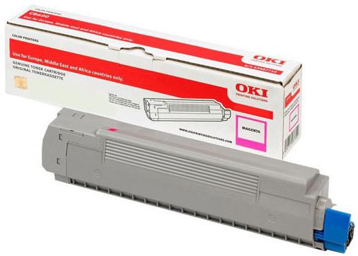 OKI 46508714, (1500 str.), magenta