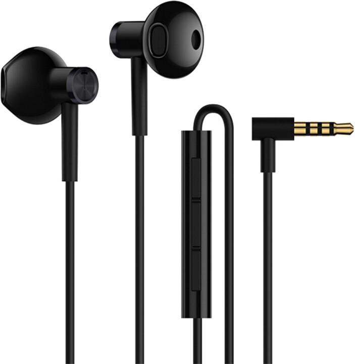 Xiaomi Mi Dual Driver Earphones, černá