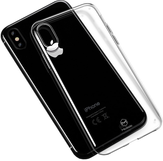 Mcdodo iPhone X Super Vision Clear Case (PC), Clear