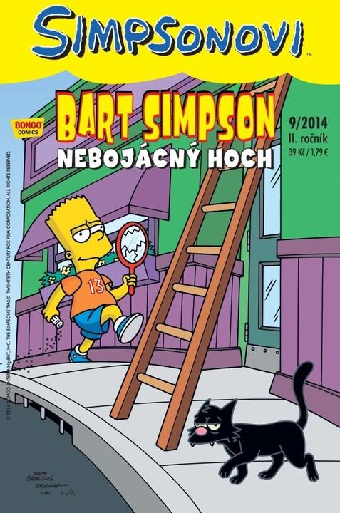 Komiks Bart Simpson: Nebojácný hoch, 9/2014