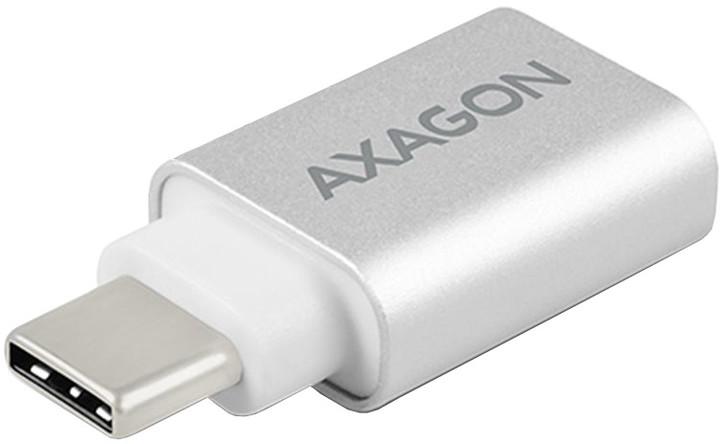 AXAGON RUCM-AFA, USB 3.0 Type-C Male > Type-A Female ALU redukce