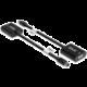 Club3D adaptér Mini DisplayPort - VGA, M/F, WUXGA@60Hz, aktivní, 23cm, černá