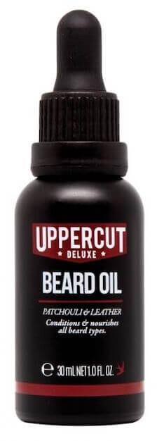 Uppercut, olej na vousy, pačula a kůže, 30 ml