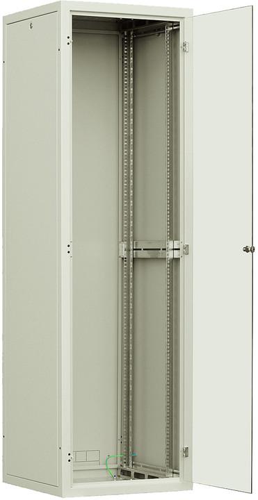 Solarix LC-30 42U 600x600mm, 1-bodový zámek