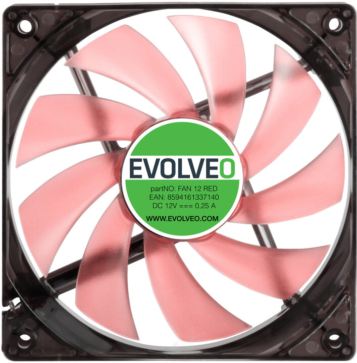 Evolveo 120mm, LED červený