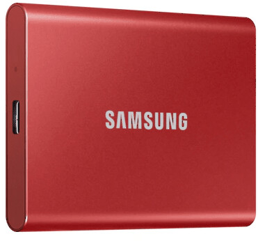 Samsung T7 - 2TB, červená