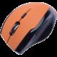 CONNECT IT bezdrátová optická myš V2, oranžová