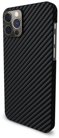 """EPICO pouzdro CARBON pro iPhone 12 Pro Max 6.7"""" černá"""