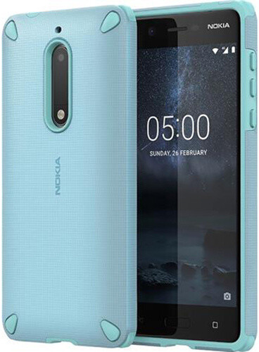 Nokia Rugged Impact Case (pouzdro) CC-502 for Nokia 5, modrá