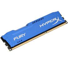 HyperX Fury Blue 8GB DDR3 1600 CL10