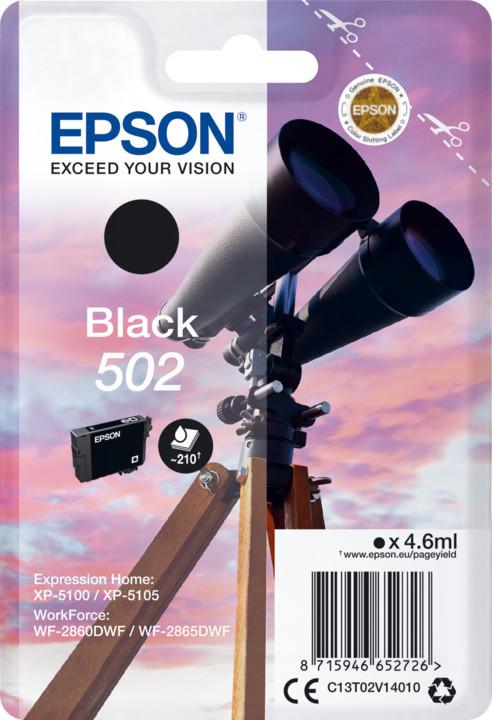Epson C13T02V14010, černá