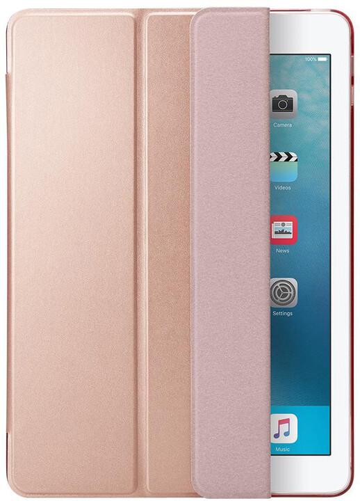 "Spigen Smart Fold Case, rose gold - iPad 9.7"""