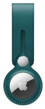 Apple poutko na AirTag, kožené, zelená