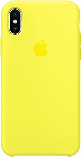 Apple silikonový kryt na iPhone 8 / 7, žlutá