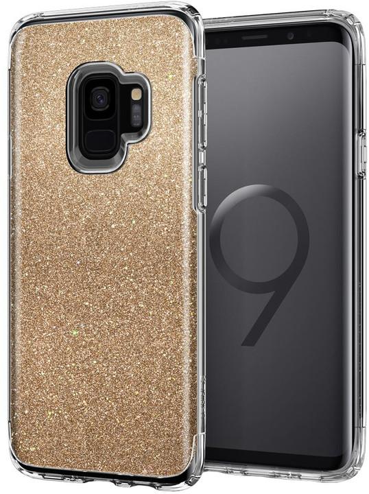 Spigen Slim Armor Crystal Glitter pro Samsung Galaxy S9, gold
