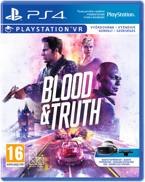 Blood and Truth (PS4 VR)