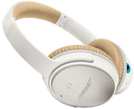 Bose QuietComfort 25, Android, bílá