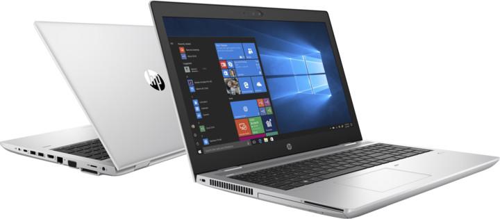 HP ProBook 650 G4, stříbrná
