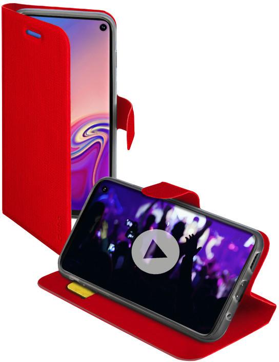 SBS pouzdro Book Sense pro Samsung Galaxy S10, červená