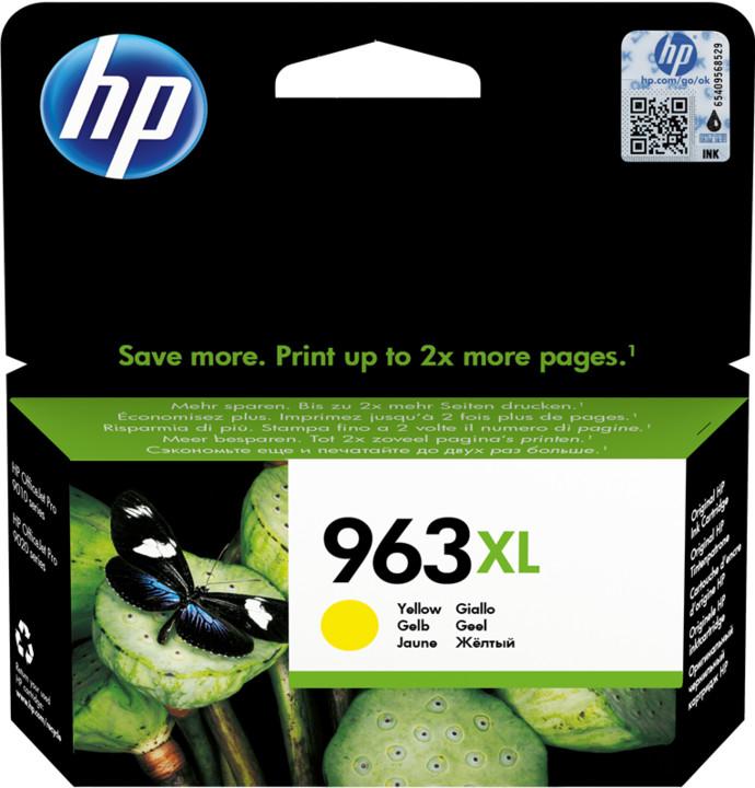 HP 3JA29AE č. 963XL, žlutá
