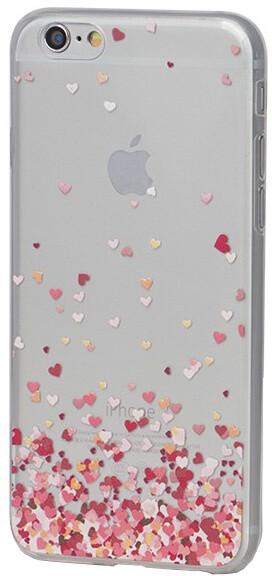 EPICO pružný plastový kryt pro iPhone 6/6S FLYING HEART