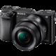 Sony Alpha 6000 + 16–50mm, černá  + Voucher až na 3 měsíce HBO GO jako dárek (max 1 ks na objednávku)