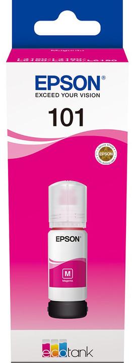 Epson C13T03V34A, EcoTank 101 magenta