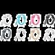 ADATA Synchronizační a napájecí kabel, USB, MFi (iPhone, iPad, iPod), 1m, černý