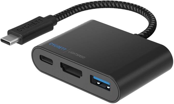 Cygnett USB-C to USB-A HDMI & USB-C Hub
