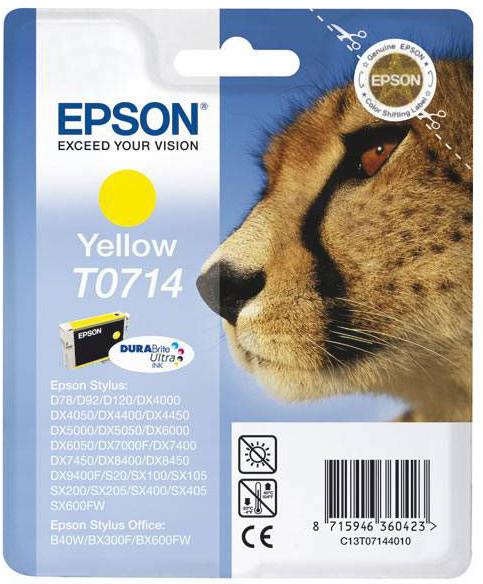 Epson C13T071440, žlutá