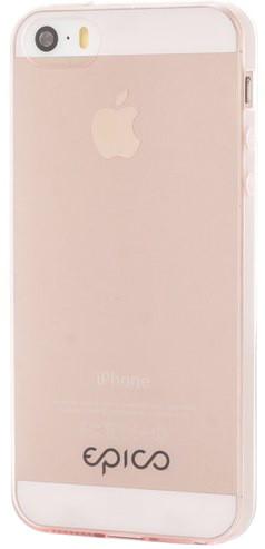 EPICO Plastový kryt pro iPhone 5/5S/SE TWIGGY GLOSS - červený